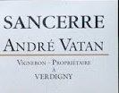Domaine Andre Vatan online at TheHomeofWine.co.uk