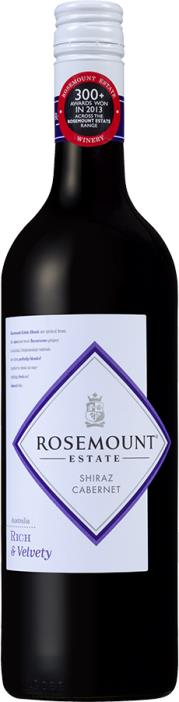 Rosemount Shiraz Cabernet Diamond Cellars