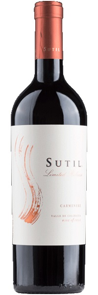 Sutil Limited Release Carmenere